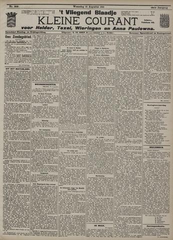 Vliegend blaadje : nieuws- en advertentiebode voor Den Helder 1910-08-31