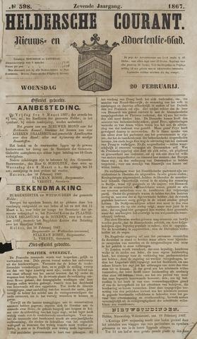 Heldersche Courant 1867-02-20