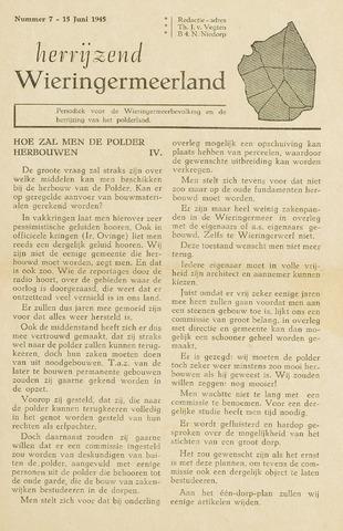 Herrijzend Wieringermeerland 1945-06-15
