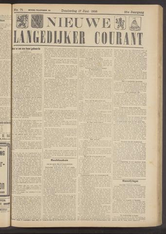 Nieuwe Langedijker Courant 1926-06-17