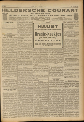 Heldersche Courant 1923-08-21