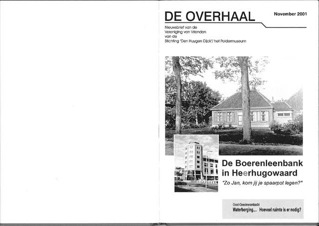 De Overhaal: historisch magazine Heerhugowaard 2001-11-01