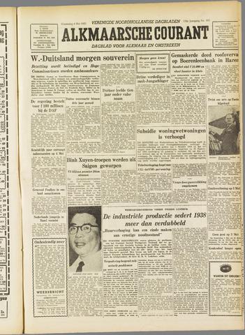 Alkmaarsche Courant 1955-05-04