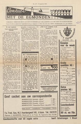 Contact met de Egmonden 1964-08-27