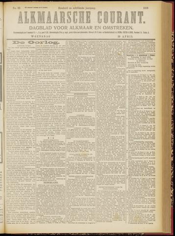 Alkmaarsche Courant 1916-04-19