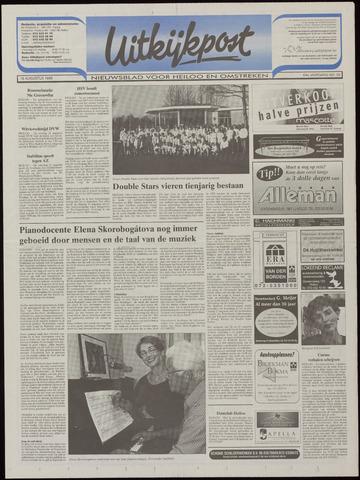Uitkijkpost : nieuwsblad voor Heiloo e.o. 1999-08-18