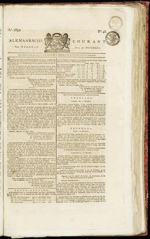 Alkmaarsche Courant 1832-11-26