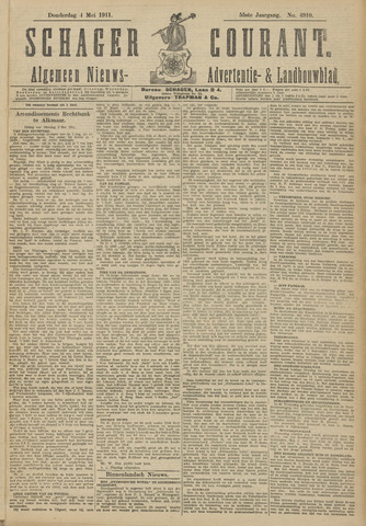 Schager Courant 1911-05-04