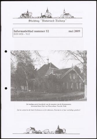 Informatieblad stichting Historisch Niedorp 2009-05-01