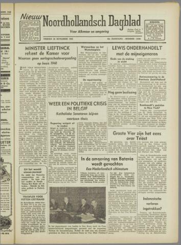 Nieuw Noordhollandsch Dagblad : voor Alkmaar en omgeving 1946-11-29