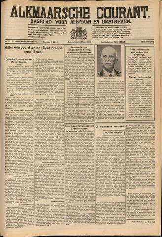 Alkmaarsche Courant 1939-03-23
