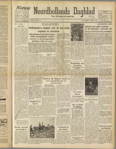 Nieuw Noordhollandsch Dagblad : voor Alkmaar en omgeving 1947-05-14