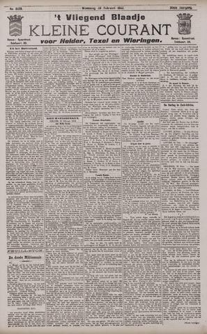 Vliegend blaadje : nieuws- en advertentiebode voor Den Helder 1902-02-26