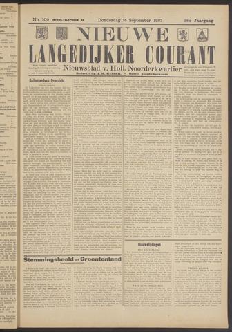 Nieuwe Langedijker Courant 1927-09-15