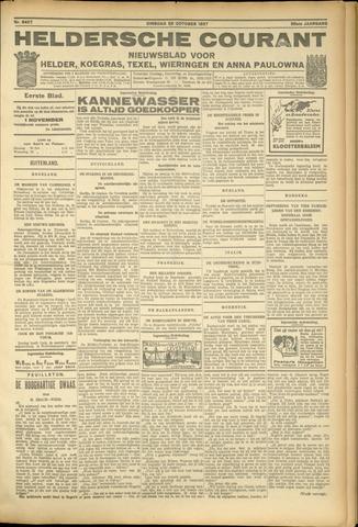 Heldersche Courant 1927-10-25