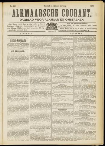 Alkmaarsche Courant 1913-10-25