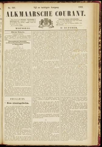 Alkmaarsche Courant 1883-10-10