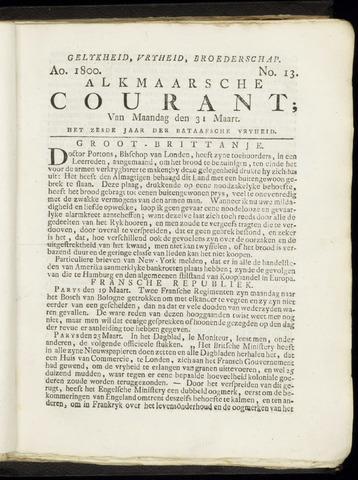 Alkmaarsche Courant 1800-03-31