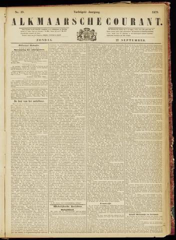 Alkmaarsche Courant 1878-09-22