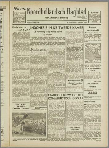 Nieuw Noordhollandsch Dagblad : voor Alkmaar en omgeving 1946-05-07