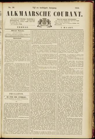Alkmaarsche Courant 1883-03-02