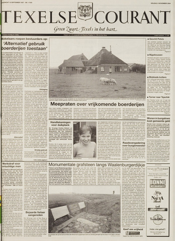 Texelsche Courant 2004-11-05