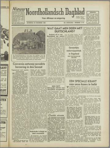 Nieuw Noordhollandsch Dagblad : voor Alkmaar en omgeving 1946-12-28