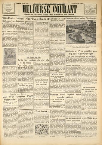 Heldersche Courant 1950-06-22