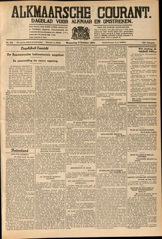 Alkmaarsche Courant 1934-10-03