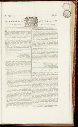 Alkmaarsche Courant 1834-11-24