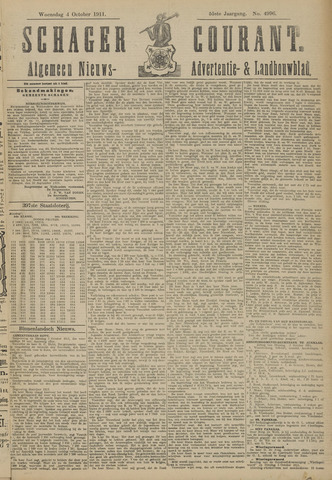 Schager Courant 1911-10-04