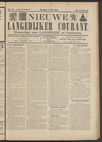 Nieuwe Langedijker Courant 1925-07-07