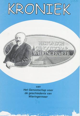 Kroniek Historisch Genootschap Wieringermeer 2003