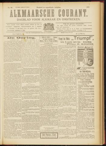 Alkmaarsche Courant 1917-04-21