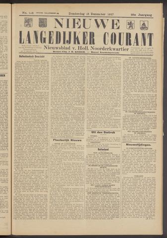 Nieuwe Langedijker Courant 1927-12-15