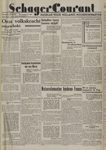 Schager Courant 1939
