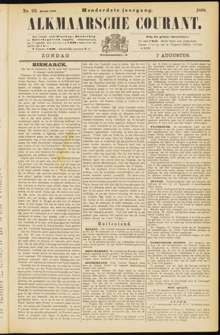 Alkmaarsche Courant 1898-08-07