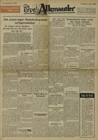De Vrije Alkmaarder 1948-04-05