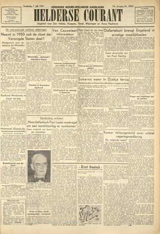 Heldersche Courant 1949-07-07