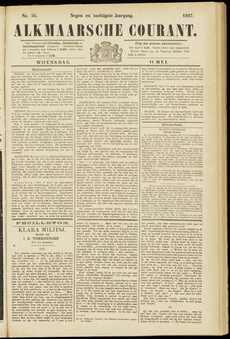 Alkmaarsche Courant 1887-05-11