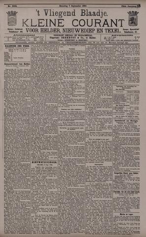 Vliegend blaadje : nieuws- en advertentiebode voor Den Helder 1895-09-07