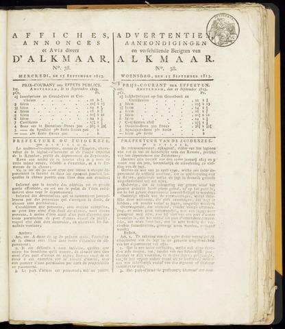 Alkmaarsche Courant 1813-09-15
