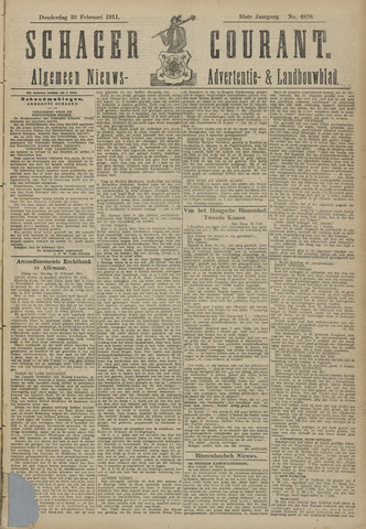 Schager Courant 1911-02-23