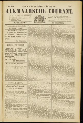 Alkmaarsche Courant 1889-12-25