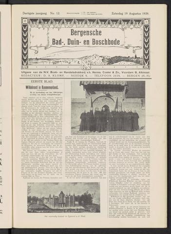 Bergensche bad-, duin- en boschbode 1939-08-19
