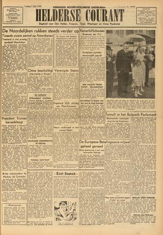 Heldersche Courant 1950-07-07