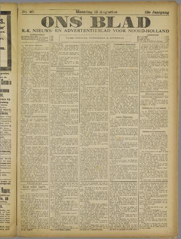 Ons Blad : katholiek nieuwsblad voor N-H 1918-08-12