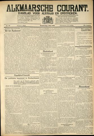 Alkmaarsche Courant 1933-05-04