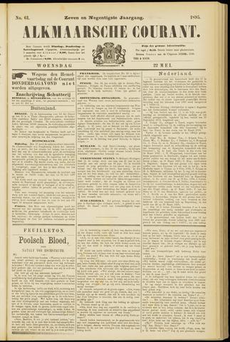 Alkmaarsche Courant 1895-05-22