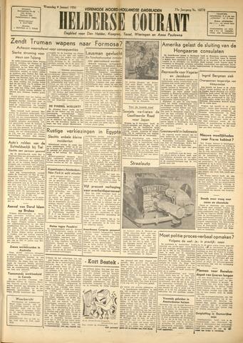 Heldersche Courant 1950-01-04
